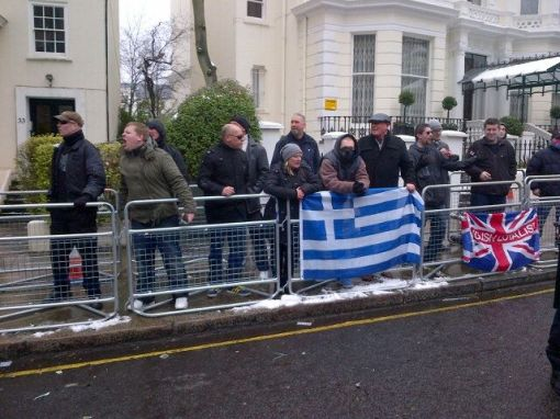 Angry Golden Dawn Supporter In with the South East Alliance (someone tell him it's ok to be ginger!)