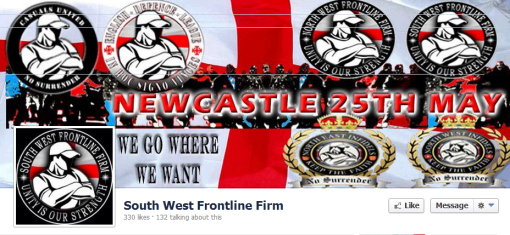 South West FF - claim they are travelling to the North East on 25th