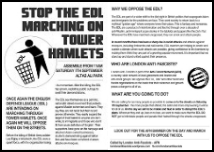 STOP EDL Sat 7 Sep background leaflet thumb