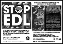 STOP EDL Sat 7 Sep leaflet thumb