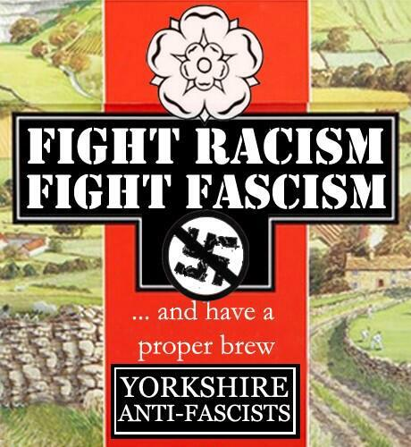 come to fight fascism stay for the tea