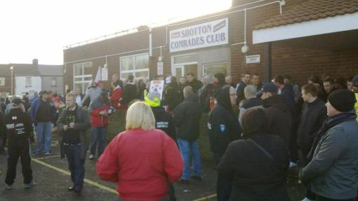 EDL Shotton Colliery protest 3