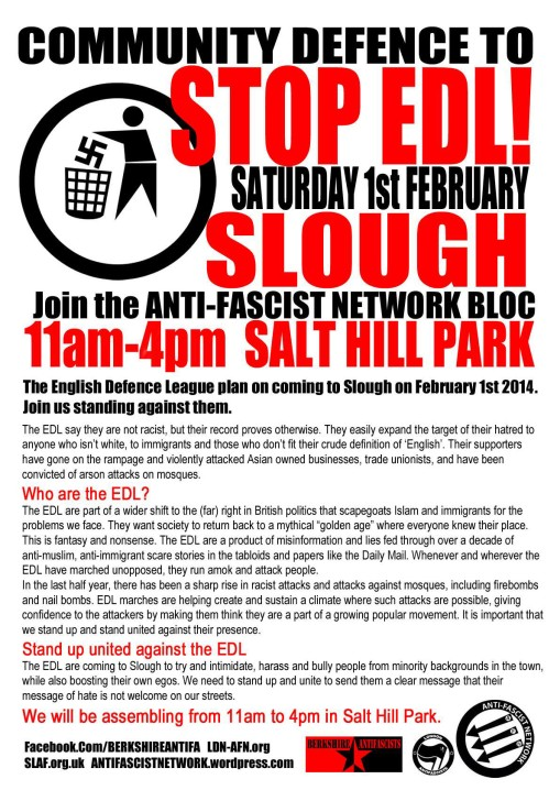 slough flyer