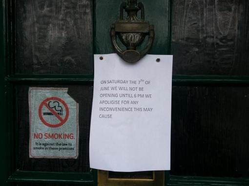 The Marquis of Lorne pub close their doors to the EDL