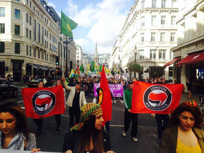 march in london this weekend