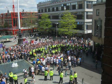 edl-surrounded-in-sheffield