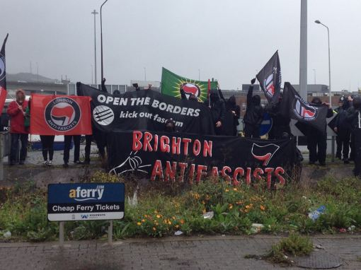 AFN Bloc at the Port of Dover.